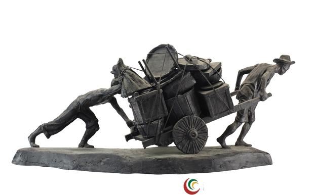《中华360行》大型组雕